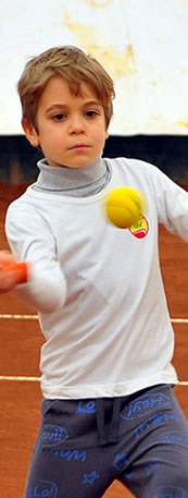 Tennis class for 8-11 years old children